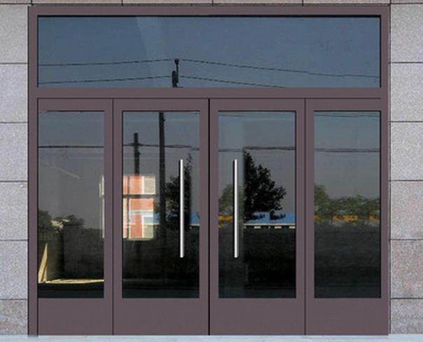如何养护烟台玻璃门